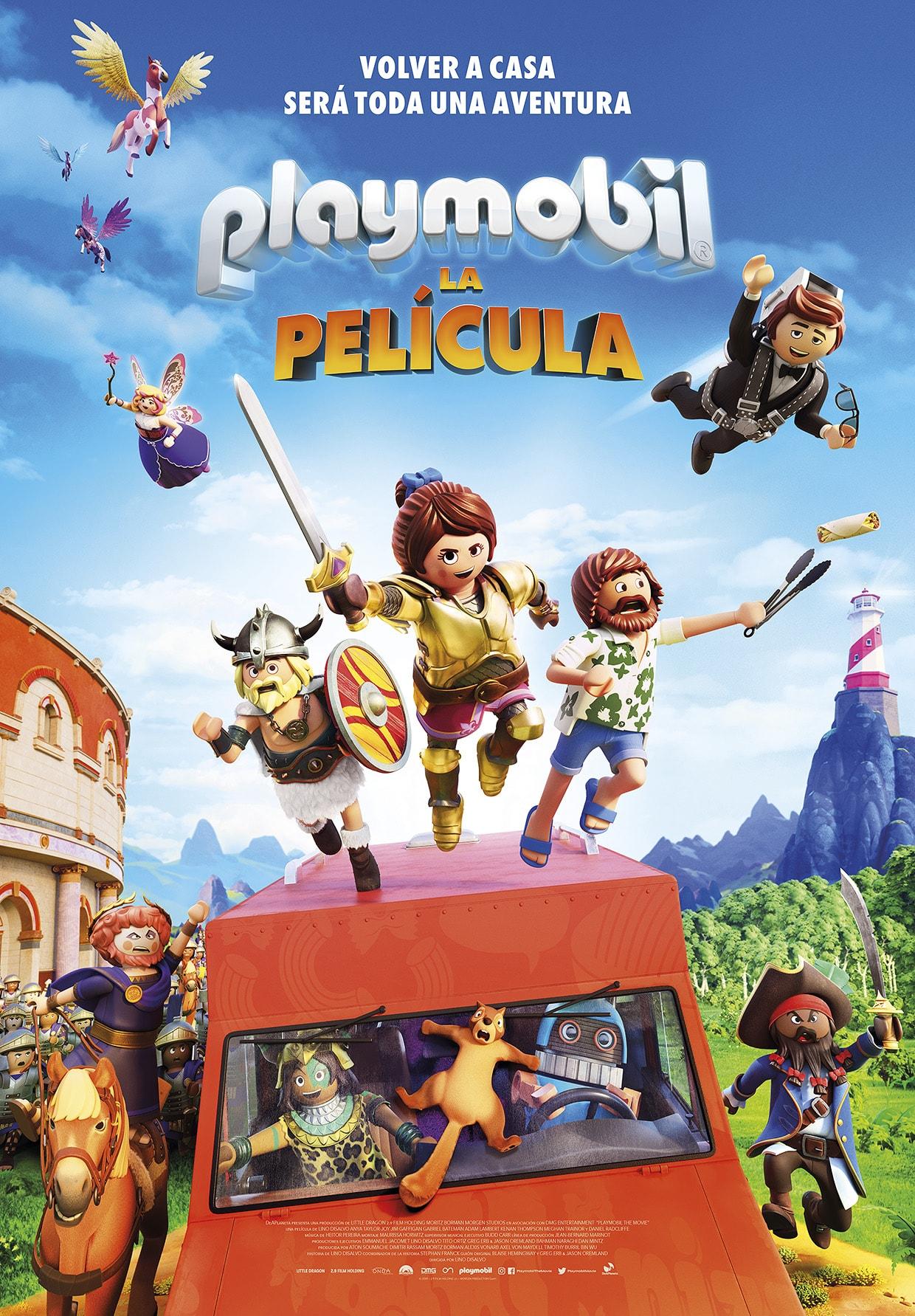 Cartel Playmobil: la película